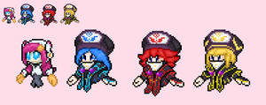 susie and the jambastion mages sprites remade