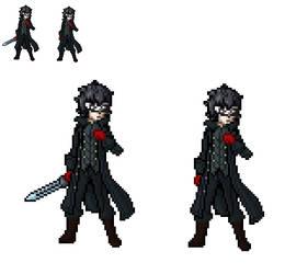 Joker sprite (persona 5) by alexmauricio407