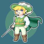 Toon Link musketeer (the legend of zelda)