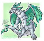 Tiki dragon form  by alexmauricio407