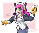 Susie Kirby Gijinka New Draw by alexmauricio407