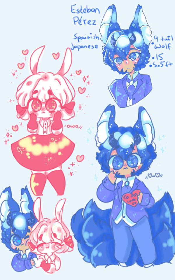 some drawings by captain-blueberry