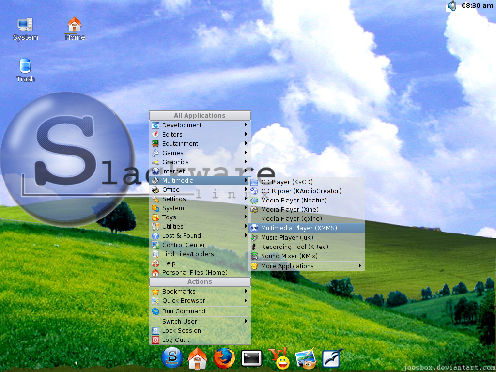 Slackware.Bliss by UnixPunx83