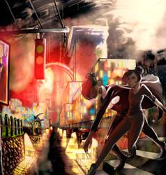 [Art Trade] Naily and Jay by RitsuSoul