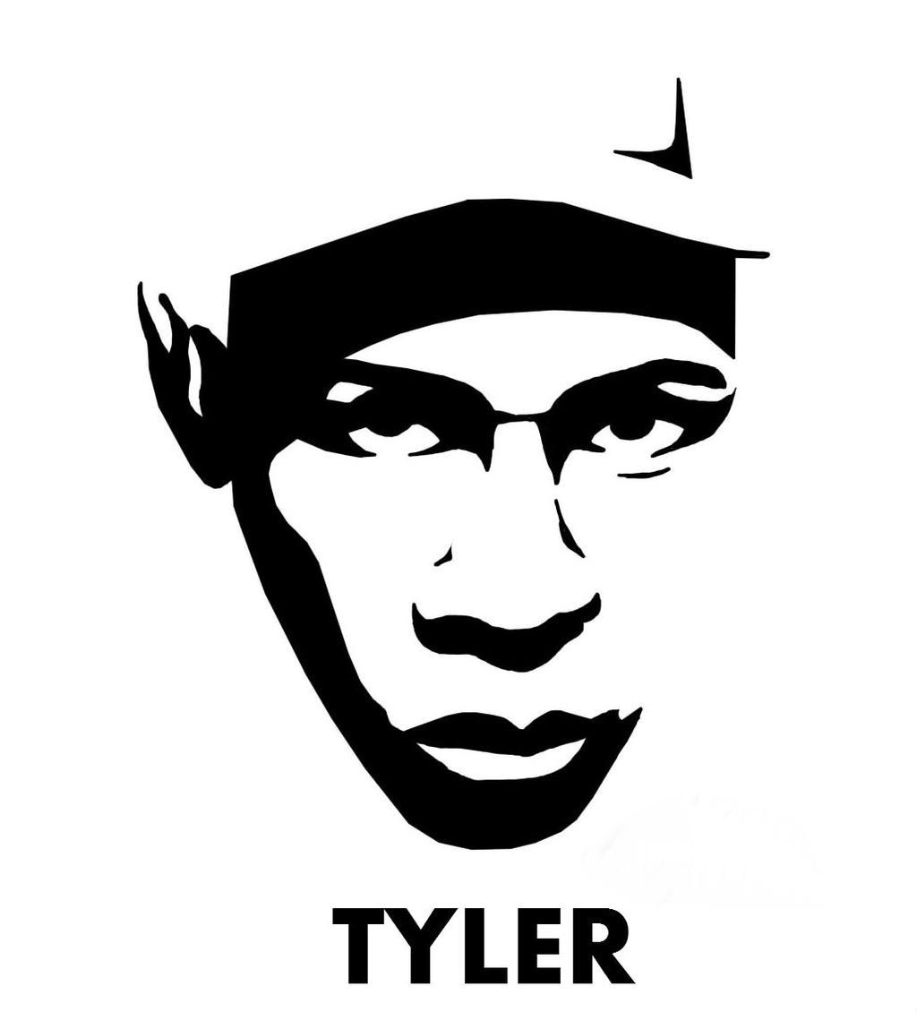 deviantART: More Like tyler stencil by joop3r
