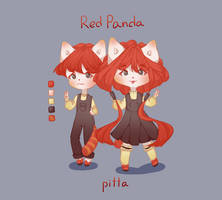Red panda adopt auction (Open) by p1tta