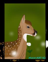 Flower fawn