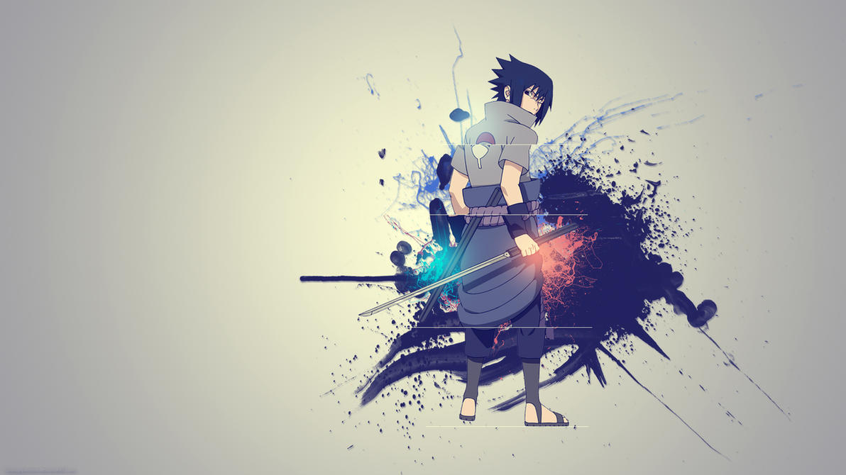 Sasuke -splatter- by GaaraJapanime