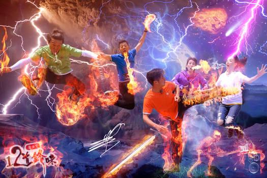 Photoshop CC 2015 Fire Effects Manipulation!