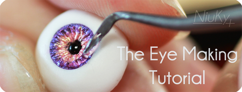 The Eye Making Tutorial - collection of parts