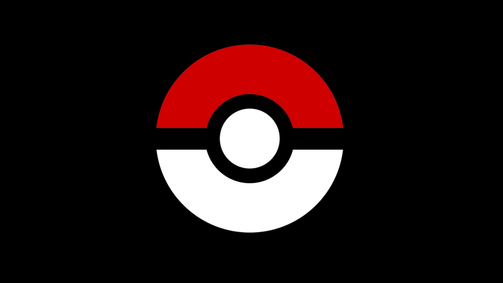 pokeball simple background by ashthenyan on deviantart