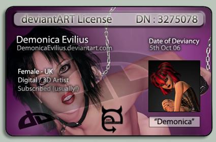 DemonicaEvilius's Profile Picture