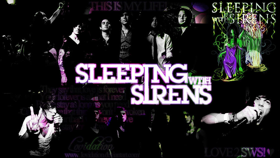 Sleeping with Sirens Wallpaper by lovidation