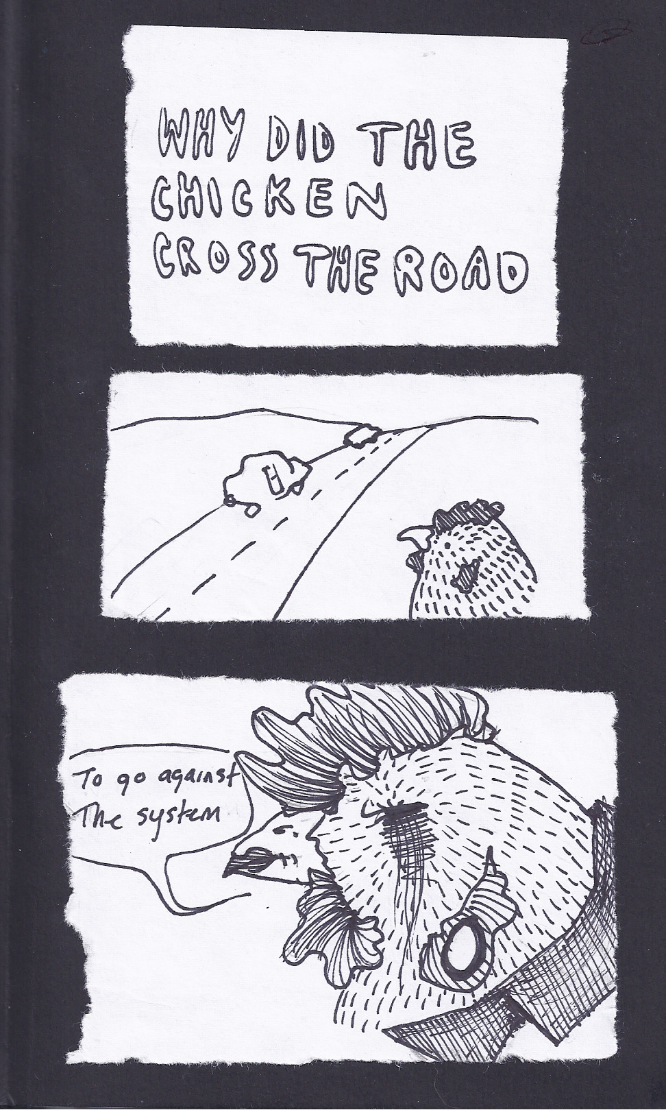 Why Did The Chicken Cross The Road by PandaCitySoundtrack