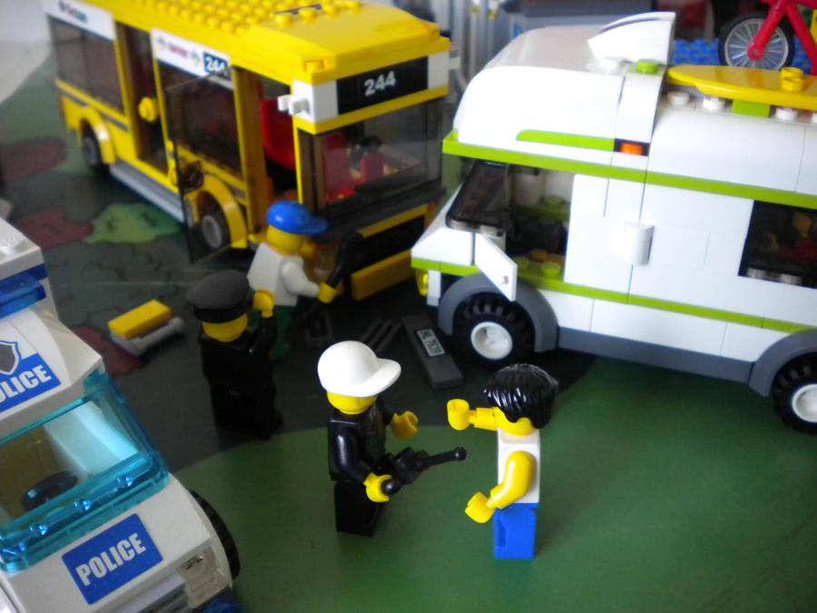 Car Crash Lego Car Crash Video