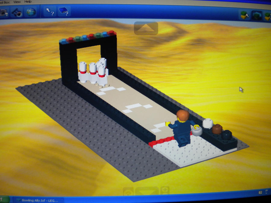 Lego Bowling by InkRose98 on DeviantArt