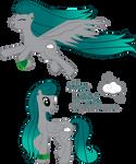 Pony OC: Silver Lining