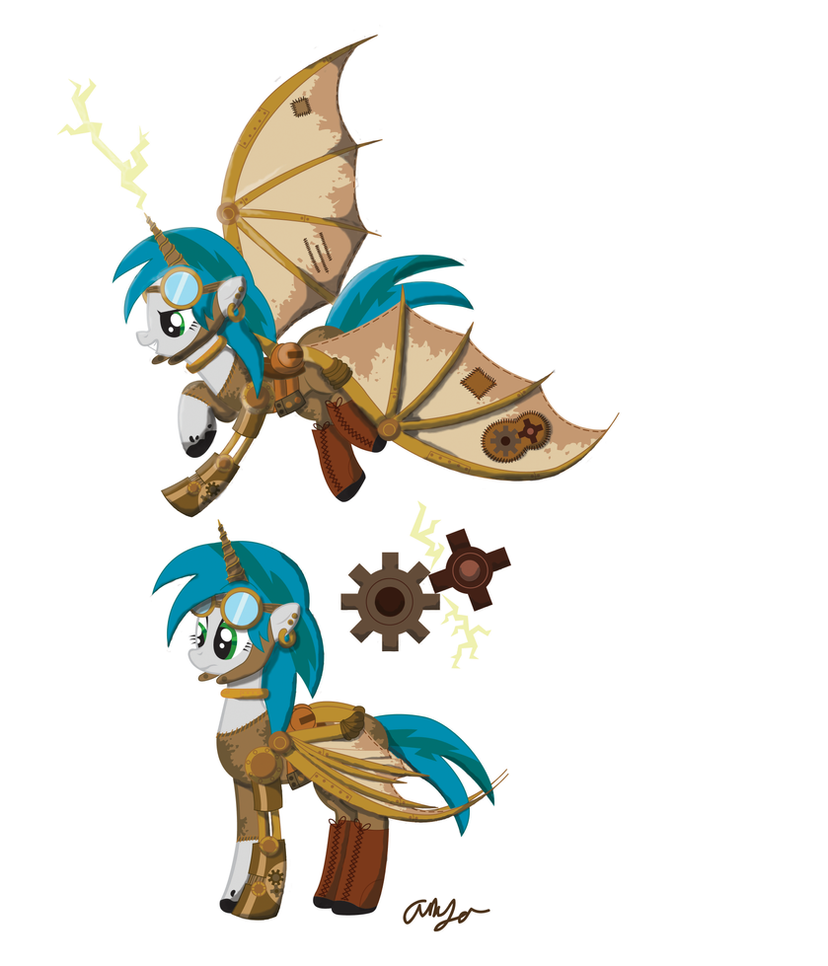 Steampunk Ponies Mascot Contest Entry By Inkrose98 On