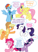 MLP:FIM Switched Brains by InkRose98