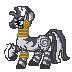 Pixel Zecora Sprite by InkRose98
