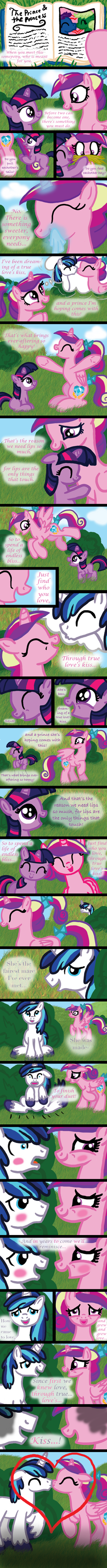 True Love's Kiss: Featuring Cadance by InkRose98