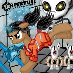 Portal Ponies by InkRose98