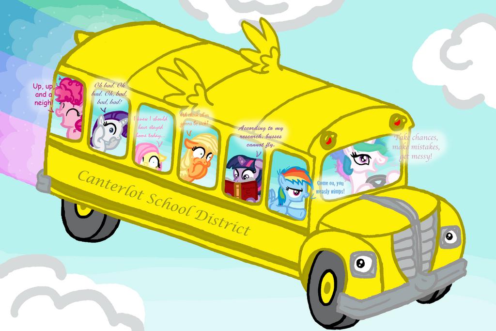 Magic School Bus Png Friendship is Magic School Bus