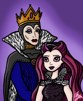 Royal Evil Family Portrait