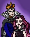 Royal Evil Family Portrait by InkRose98