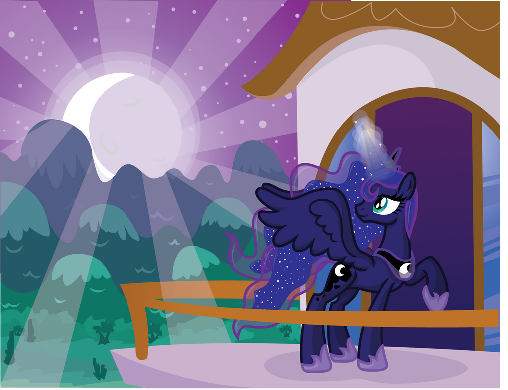 Moonrise by InkRose98