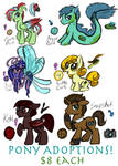PONY ADOPTS for Sale! (Only ONE PONY is left!)