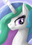 Celestia Portrait Speed-Paint by InkRose98