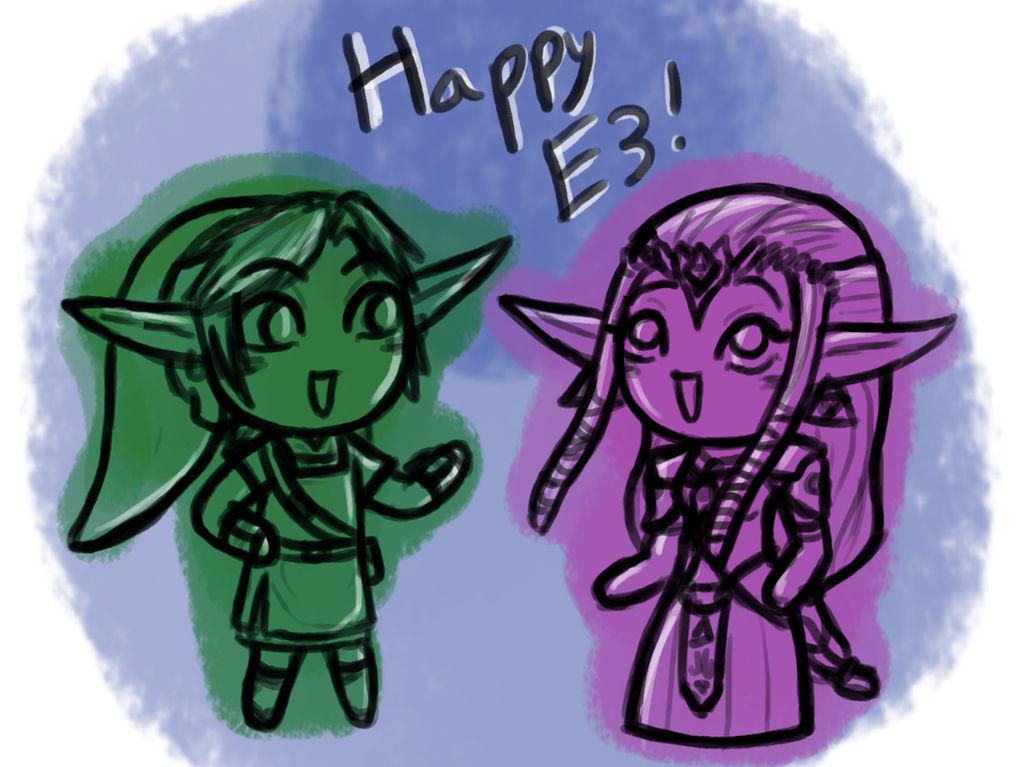 Happy E3 Doodle~ by InkRose98