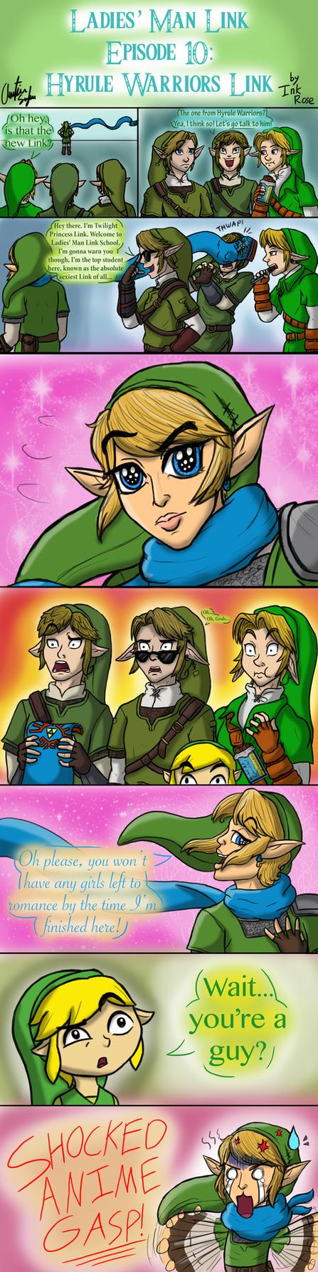 Ladies' Man Link Episode 10: Hyrule Warriors Link by ...