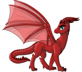 -Aelwen Dragon Form-