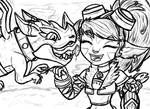 Dragon Trainer Tristana (WIP)