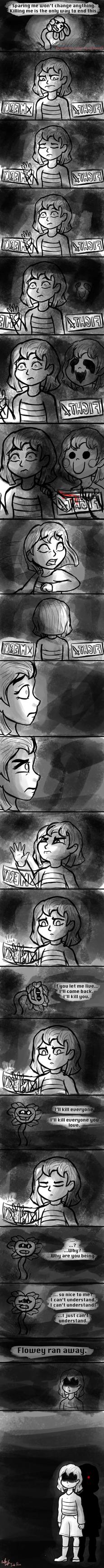 Chara (Undertale) by InkRose98