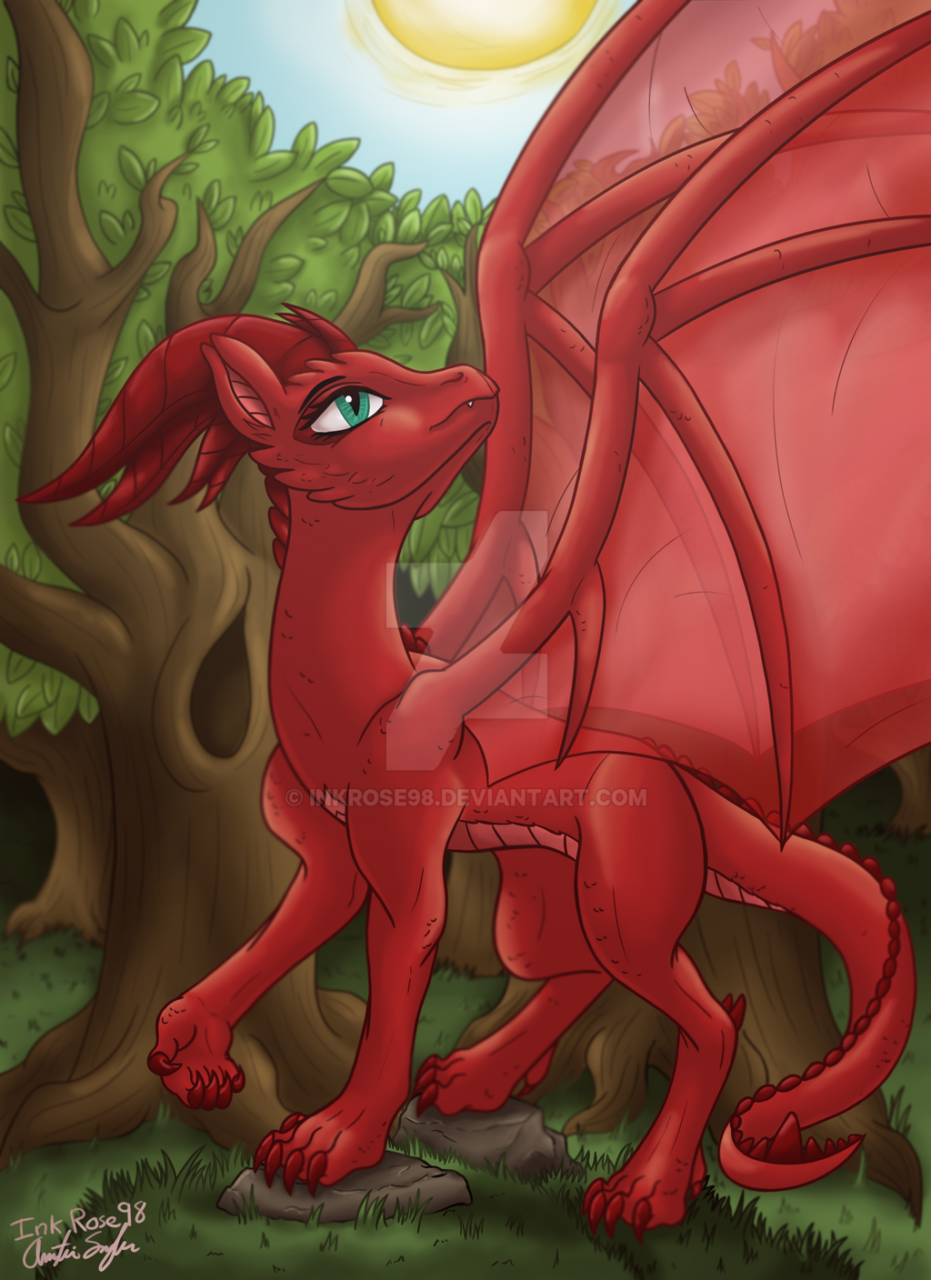 The Dragon Queen by InkRose98
