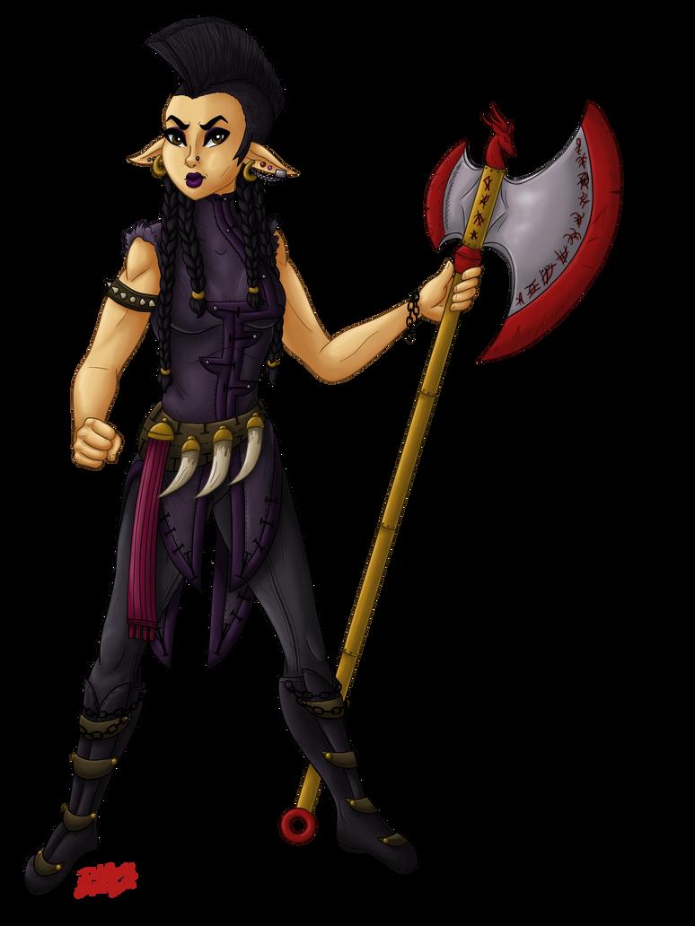 Dragon Queen: Kera by InkRose98
