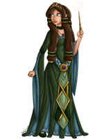 Aelwen Character Illustration 1