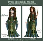 Draw This Again Meme: Aelwen