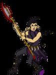 Battle Kera (Line Art+Flat Colors)