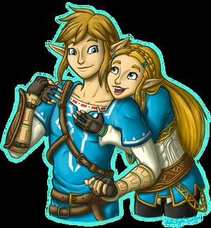 BOTW Zelink Hugs