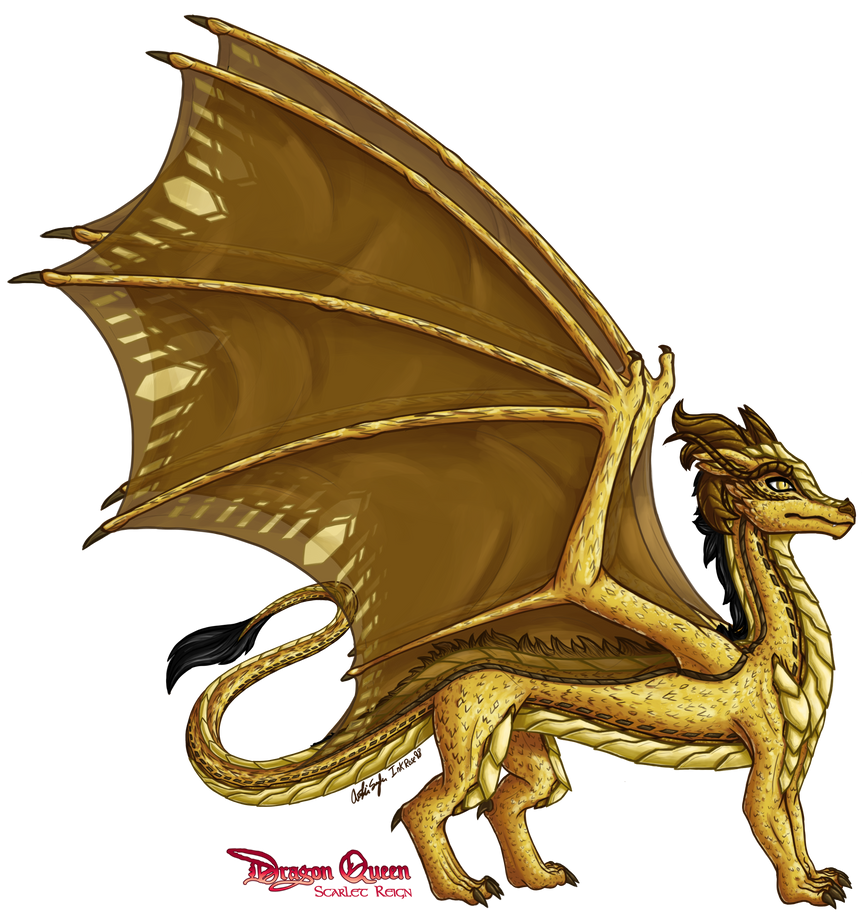 The Golden Dragon (Updated) by InkRose98