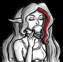 Tea Time by InkRose98
