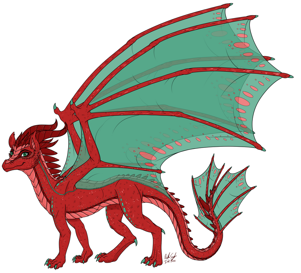 Princess Aelwen (Dragon Form Redesign)