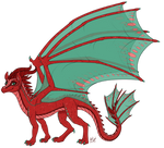 Princess Aelwen (Dragon Form Redesign)