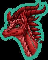 Aelwen Portrait by InkRose98
