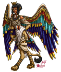 Dragon Queen: Lady Nailah of the Sphinx
