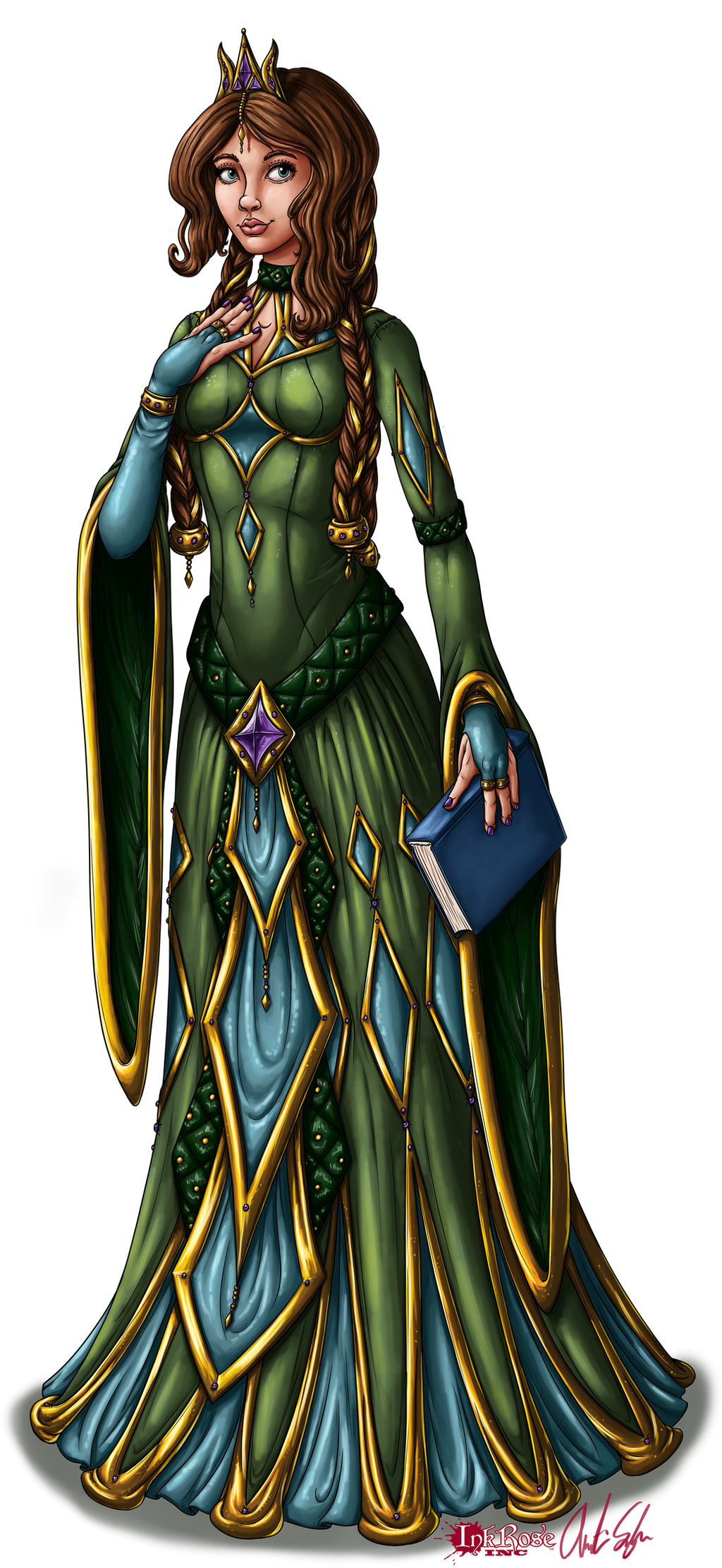 Princess Aelwen Illustration